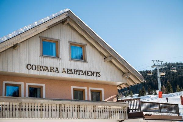 """Foto invernale di presentazione """"Corvara"""" Apartments - Appartamenti 3 soli"""