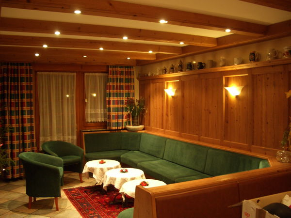 The common areas Rooms + Apartments Chalet Brigitte