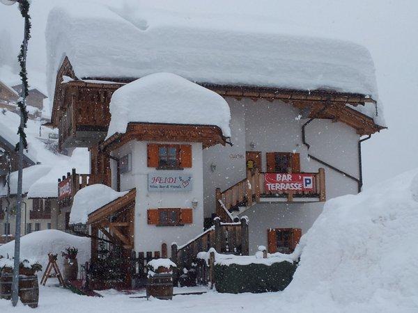 Foto invernale di presentazione Chalet Heidi - Appartamento 3 leoni