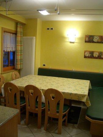La zona giorno Chalet Heidi - Appartamento 3 leoni