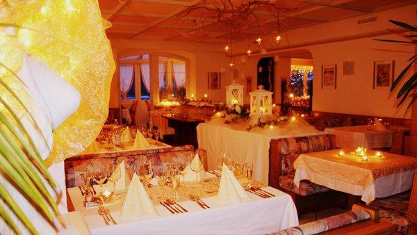 Il ristorante Resia Etschquelle