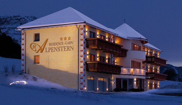 Winter Präsentationsbild Garni + Residence Alpenstern