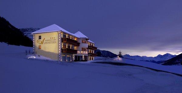 Foto Außenansicht im Winter Alpenstern