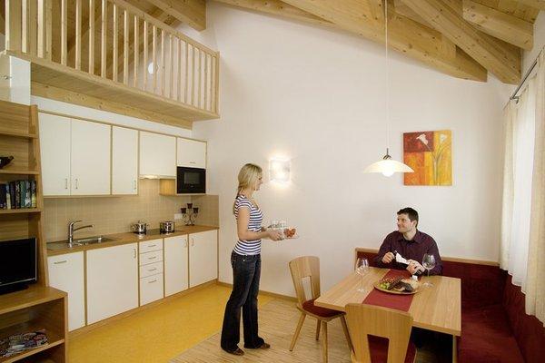 Foto der Küche Alpenstern