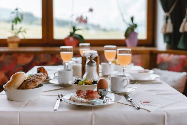 La colazione Hotel Alpenrose