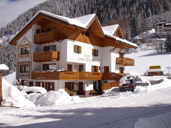 Photo exteriors in winter Ciasa Felicita
