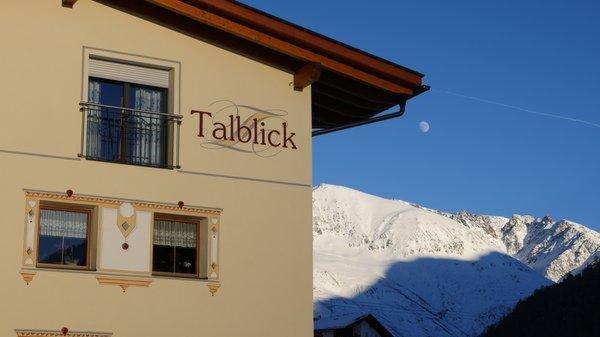 Foto invernale di presentazione Haus Talblick - Camere private + Appartamenti 3 soli