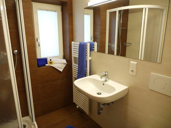 Foto del bagno Camere private + Appartamenti Haus Talblick