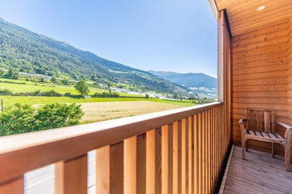 Foto del balcone Biohotel Panorama