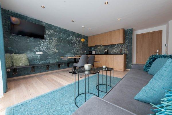 Foto della cucina Lapis Monti - Apartments & Suites