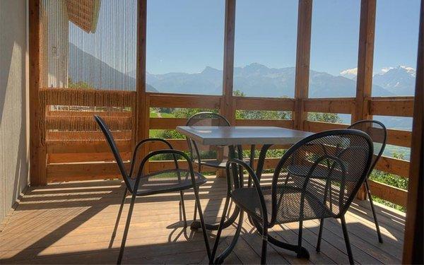 Foto del balcone Montecinhof