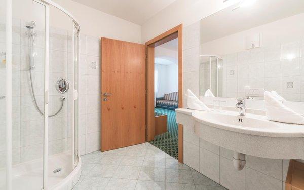 Foto del bagno Saldur Small Active Hotel