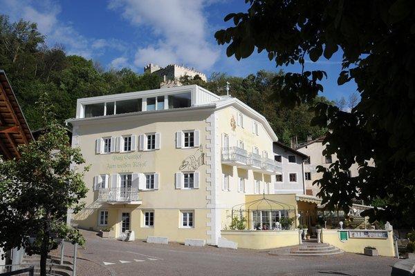 Foto esterno in estate Burggasthof Zum Weissen Rössl