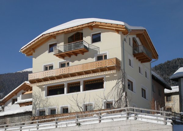 Foto invernale di presentazione Hotel Chavalatsch