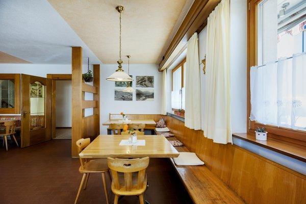 Il ristorante Tubre in Val Monastero Chavalatsch