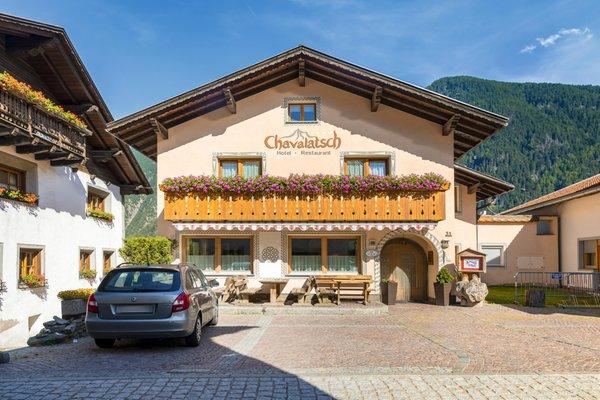 Foto estiva di presentazione Hotel Chavalatsch