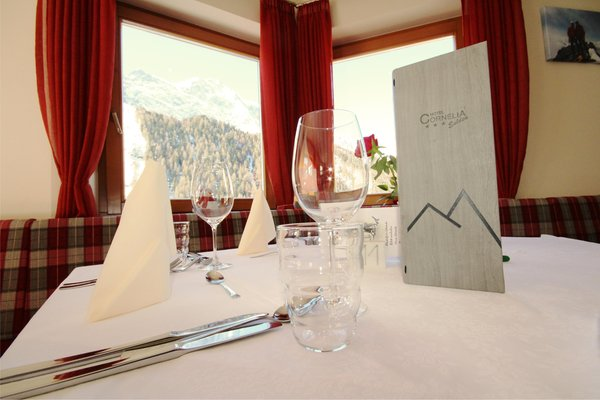 The restaurant Solda / Sulden Cornelia
