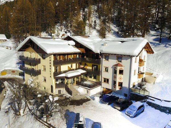 Foto invernale di presentazione Hotel Cornelia