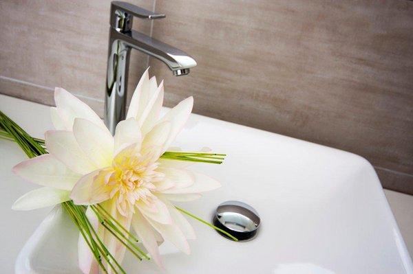 Foto del bagno Hotel Cornelia