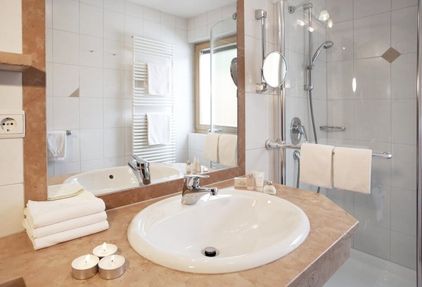 Photo of the bathroom Hotel Gertraud