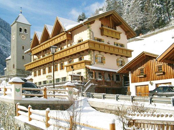 Foto invernale di presentazione Hotel Gallia