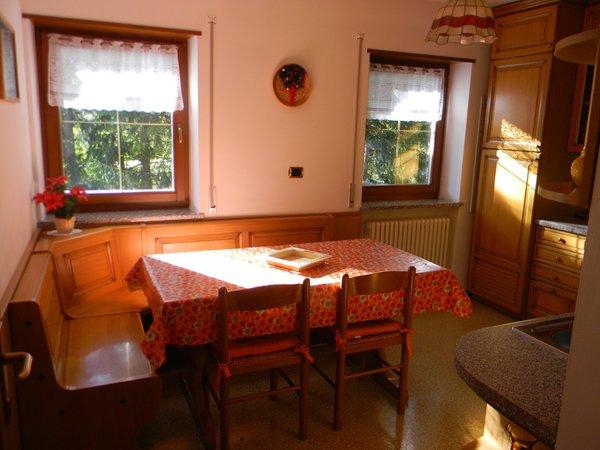 La zona giorno Riz Claudio - Appartamenti 4 genziane