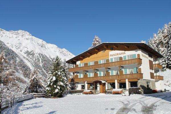 Foto invernale di presentazione Pensione Panorama