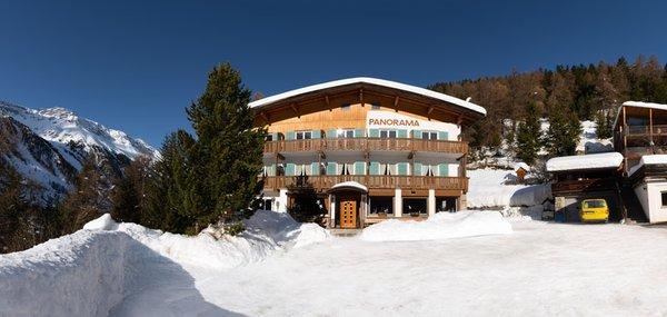 Foto esterno in inverno Panorama