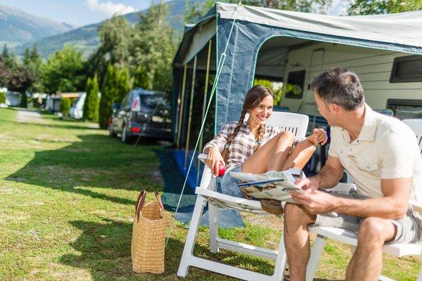 Sommer Präsentationsbild Campingplatz Sägemühle