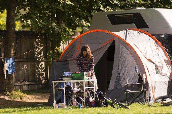Foto esterno Campeggio Kiefernhain