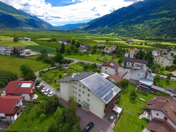 Position Residence Ortlerhof Prato allo Stelvio