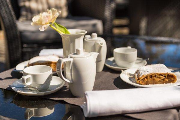 La colazione Landhaus Fux - Residence 3 stelle