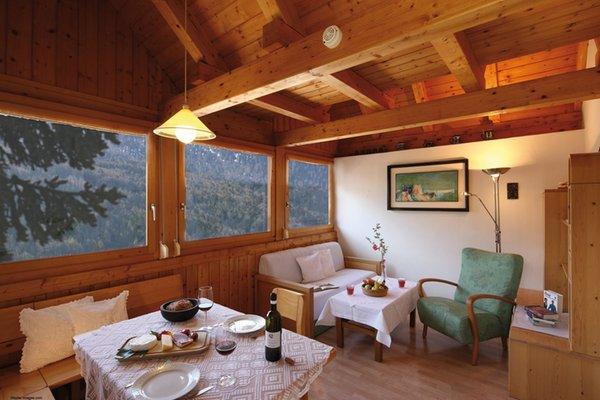 La zona giorno Landhaus Fux - Residence 3 stelle