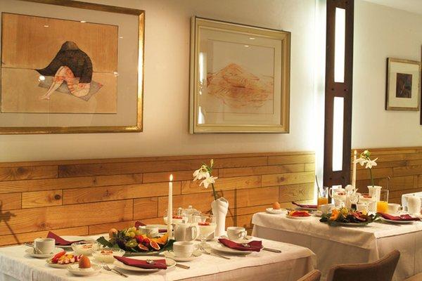 Il ristorante Silandro Landhaus Fux