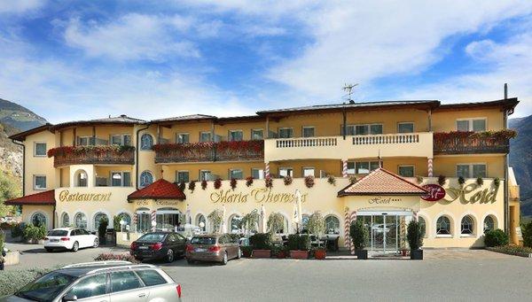 Foto estiva di presentazione Hotel Maria Theresia