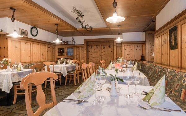 Il ristorante Silandro Goldener Löwe - Anno 1773