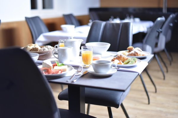 The breakfast Small hotel Pernthaler