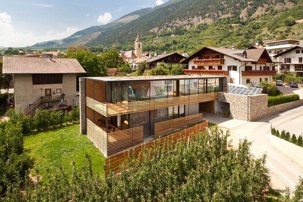 Foto estiva di presentazione Residence Kortscherhof