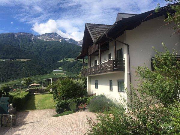 Foto esterno in estate Kortscherhof