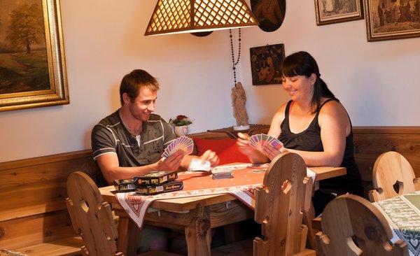 Le parti comuni Appartamenti in agriturismo Fohlenhof
