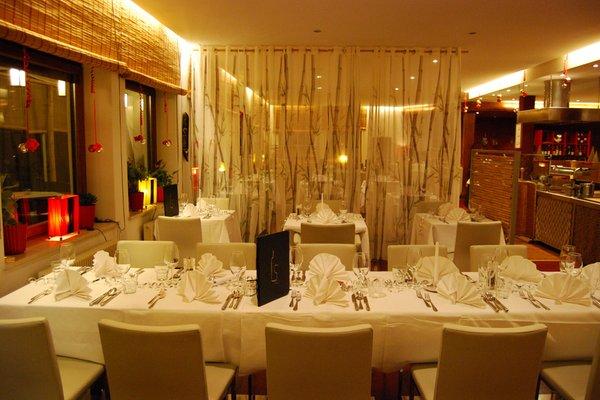 Il ristorante Coldrano (Laces - Val Martello) Bamboo