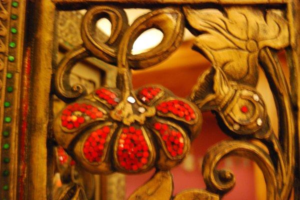 Foto di alcuni dettagli Bamboo
