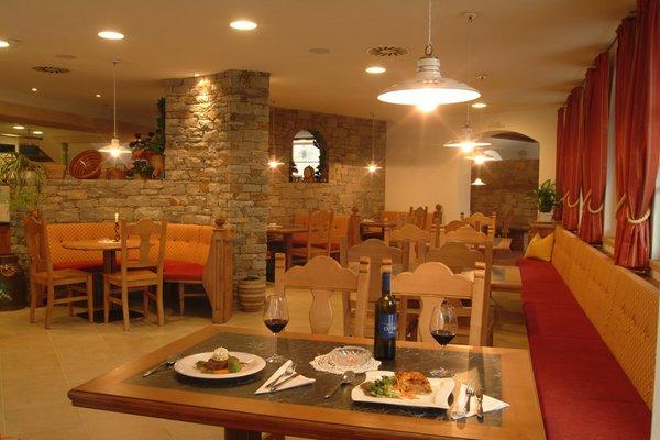 Il ristorante Laces Latsch an der Etsch