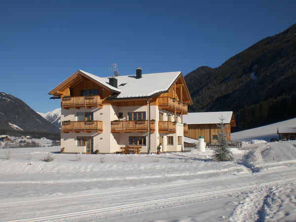 Foto esterno in inverno Untersieglerhof