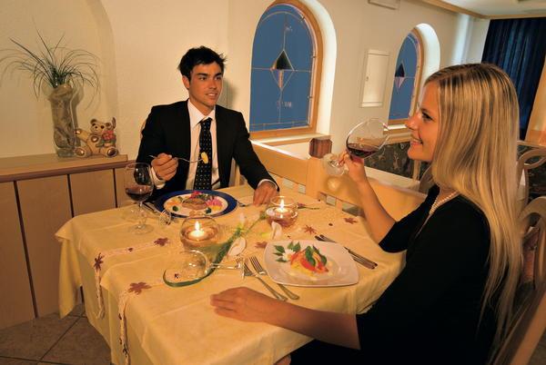 Il ristorante Val Martello Bergfrieden