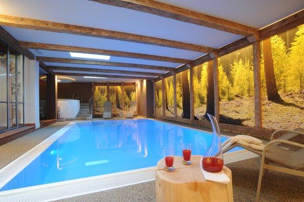 La piscina Bergfrieden - Hotel 3 stelle sup.