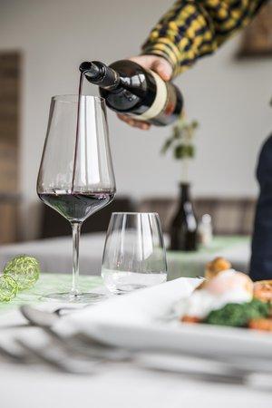 Il ristorante Val Martello Burgaunerhof