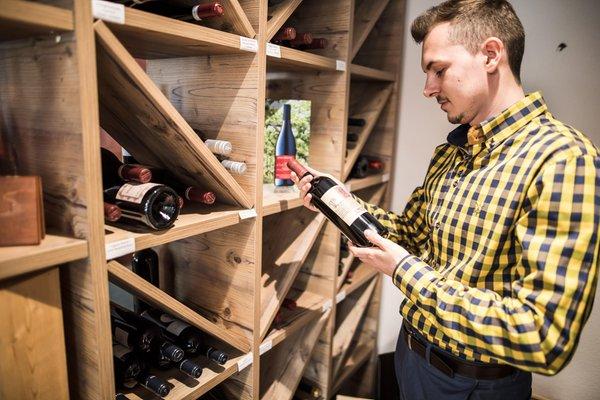 La cantina dei vini Val Martello Burgaunerhof