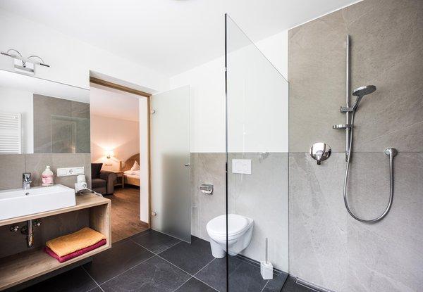 Foto del bagno Hotel Burgaunerhof