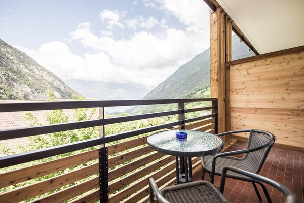 Foto del balcone Burgaunerhof